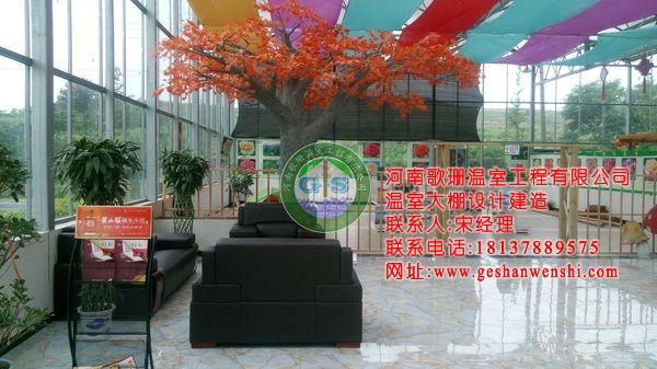 湖北武汉木兰花园生态园餐厅温室投入运营5.jpg